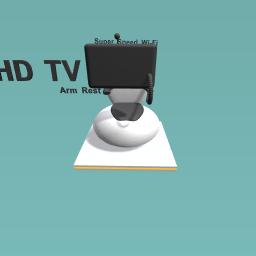 TV Toilet
