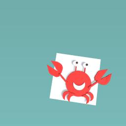 its a crab