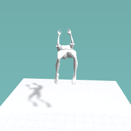 Girl backfliper