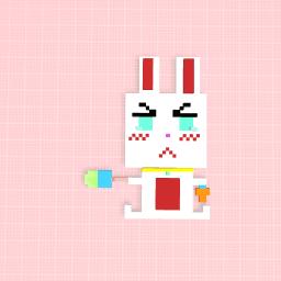 Innocent bunny!.