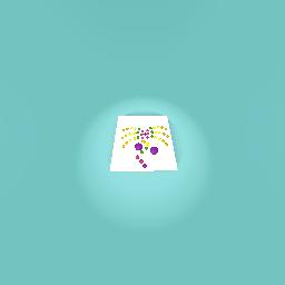 Dot desigm of a Flower