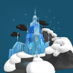 Frozen's Ice Castle