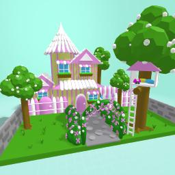 Pretty garden home
