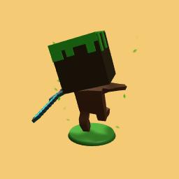 minecraft dirt guy