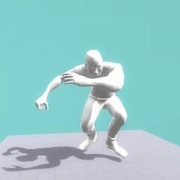 Running Dabbing Guy