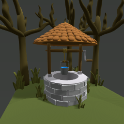 Mysterious well