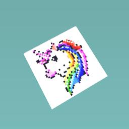 Pixel Unicorn!
