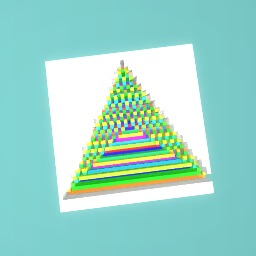 Rainbow triangle