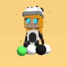 Panda look :)