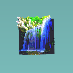 Tropical watterfall