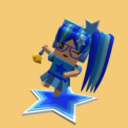 Blue Star Girl