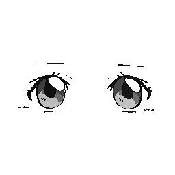 Practice Anime Eyes Drawing #1