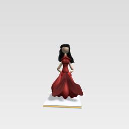 A fashionable girl