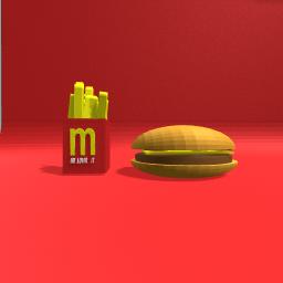 McDonalds cheesburger