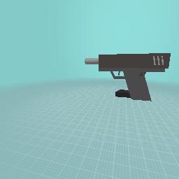 Unloaded Glock 18
