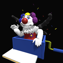 Clown from nightmares