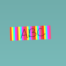 Abc book mark
