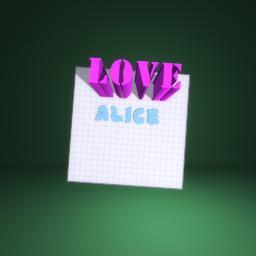 Alice Goode xx