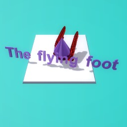 The flying foot