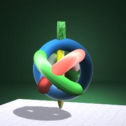 Circular Spining Top