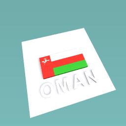 Oman flag challenge