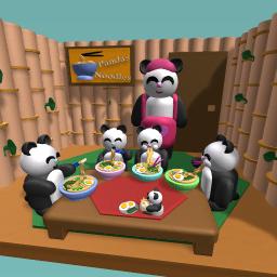 Pandas Noodle Shop