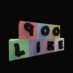 900 like