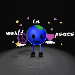 world in peace  ^^♡♡