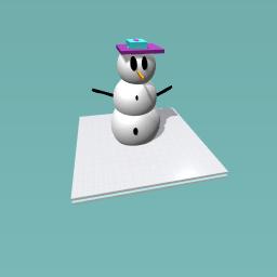 my snow man