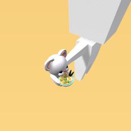 Noodle mouse