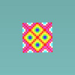 1qaqa Rainbow Floor