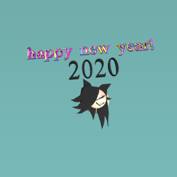 HAPPY NEW YEAR (late)