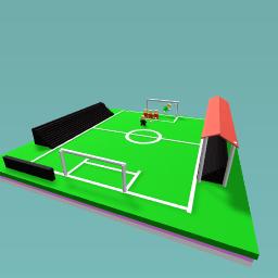Free kick goal