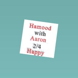 Hamood weith Aarn 2/4 happy