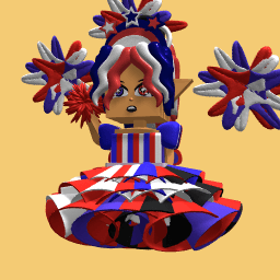 4rth of July girl