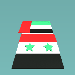 SYRIA AND EMIRATES FLAG