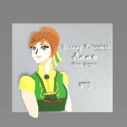 Disney Anna From Frozen