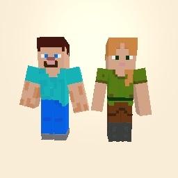 Alex and Steve