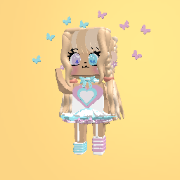 Pastel prom girl☆