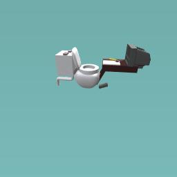 its a toilet!