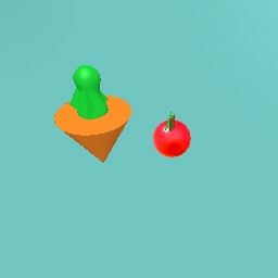 Carrot Vegetable and Strawberry Fruit