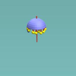 Hot weather and flies umbrella