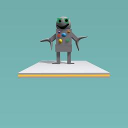 beny the robo human