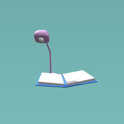 Book with uv lamp