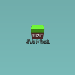100 Likes For This Lonely Minecraft Block?