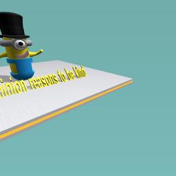Top hat minion