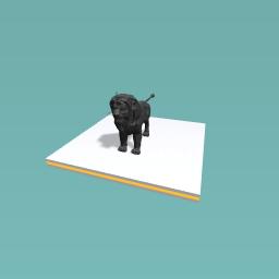 Black Lion King character