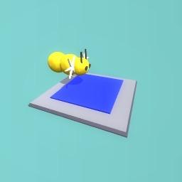 Flytless bee