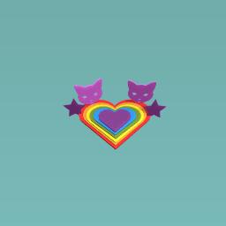 rainbow heart ❤️