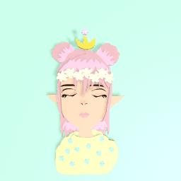 Flower princess Elf